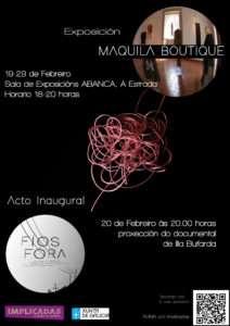 Cartaz Maquila Boutique 1
