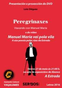Presentación dvd Manuel Maria CARTEL